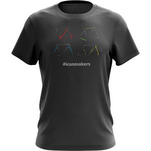 Pinarello ICON tričko sivé