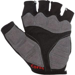 Pinarello CORSA krátke cyklo rukavice čierne