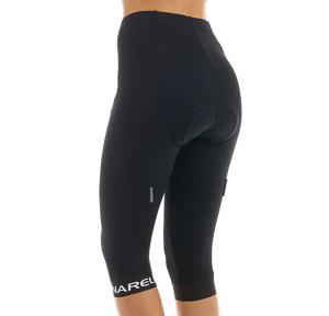 Pinarello CORSA 3/4 cyklo nohavice dámske čierne