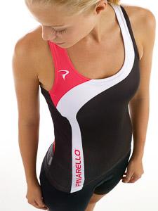 Pinarello CORSA cyklo top dámsky, čierno-ružový