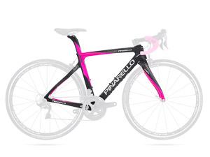 Pinarello GAN RS cestný rám ružový čierny