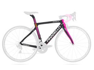 Pinarello GAN S cestný rám ružový čierny