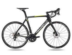 Pinarello Gan GR Disk cestný bicykel čierny žltý fluo 2017