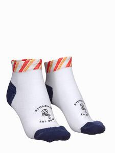 ST perfomance sport ponožky biele/modré