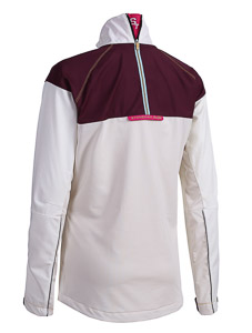 ST Seefeld bunda dámska biela/červená