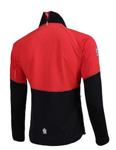 ST Bon Voyage bunda unisex čierna/červená