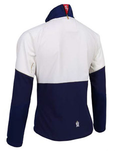 ST Bon Voyage bunda unisex biela/modrá