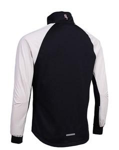 ST exercise bunda unisex čierno/béžová