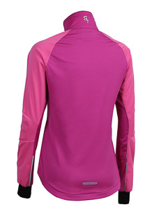 ST exercise bunda dámska ružová