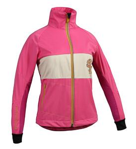 ST exercise bežecká bunda detská ružová