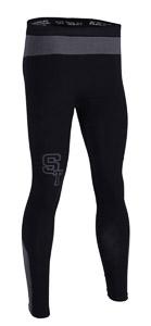 ST spodné nohavice unisex čierno/sivé