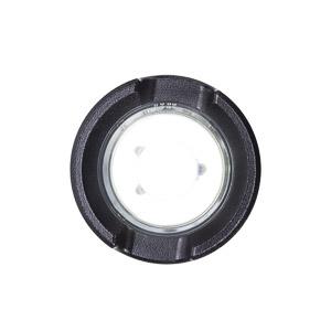 MOST LIGHTHOUSE LED USB čelné svetlo čierny hliník 200 lm