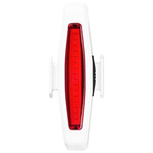 MOST RED EDGE LED USB extra silná blikačka biela