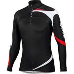 Sportful Apex Flow Race Top čierny/biely/červený