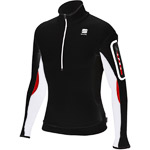 Sportful Apex Arctic Stretch Flísová bunda čierna/biela