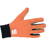 Sportful Lycra race rukavice čierne/oranžové