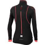 Sportful Doro Gore WindStopper bunda dámska čierna/fluo koralová