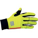 Sportful Apex rukavice fluo žlté