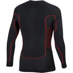 Sportful 2nd Skin Tričko s dlhým rukávom čierne