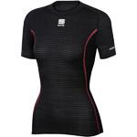 Sportful Bodyfit Pro termo tričko KR dámske čierne