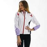 OneWay EWIRA bunda dámska biela/fialová