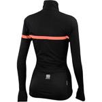 Sportful Giara dámska bunda čierna/fluo koralová
