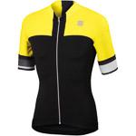 Sportful Strike Cyklo Dres čierny/žltý