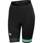Sportful Bodyfit Pro Dámske kraťasy čierne/zelené