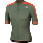 Sportful Bodyfit Pro 2.0 Classics Dres kaki zelený/oranžový