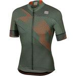 Sportful Bodyfit Team 2.0 Faster Dres kaki zelený/oranžový