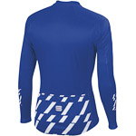 Sportful Tec-Trix dres s dlhým rukávom modrý/biely