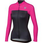 Sportful Bodyfit Pro Thermal dámsky dres antracitový/ružový