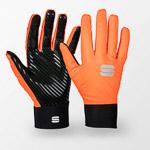 Sportful Fiandre Light rukavice čierne/oranžové