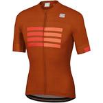 Sportful Wire dres oranžový/červený