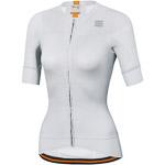Sportful Bodyfit EVO dámsky dres biely/zlatý