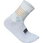Sportful Oasis dámske ponožky biele/zlaté