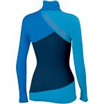 Karpos CROZZON fleece mikina dámska modrá/azúrová