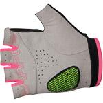 Karpos RAPID 1/2 rukavice, tmavosivé, ružové fluo