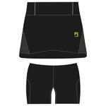 Karpos LAVAREDO RUN Bežecká sukňa, čierna, ružová