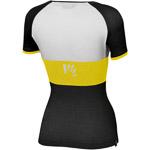 Karpos MOVED EVO dámske tričko čierne/žlté/biele