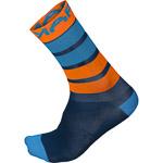 Karpos VERVE ponožky modré/oranžové