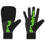 Karpos LAVAREDO rukavice čierne/zelené fluo