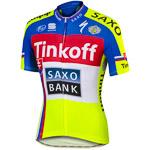 Tímové cyklooblečenie Tinkoff-Saxo