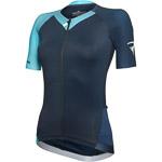 Pinarello dámsky dres STAR Think Asymmetric modrý