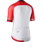 Pinarello AERO dres Think Asymmetric červený/biely