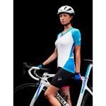 Pinarello PRO dámsky dres #iconmakers biely/modrý/ružový