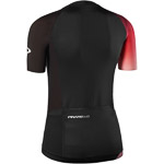 Pinarello PRO dámsky dres Think Asymmetric čierny/červený