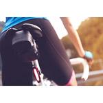 Pinarello ELITE dámske kraťasy s trakmi #iconmakers čierne/ružové